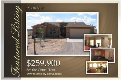 New Listing! 821 6th St Rio Rancho!