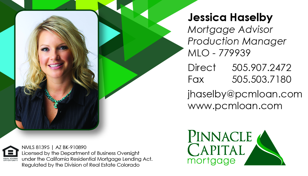 Albuquerque Mortgage Lender Jessica Haselby Pinnical Capital Mortgage
