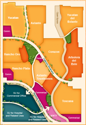 Cabezon Neighborhood Map